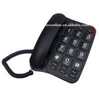 Analog Fixed Land Line Big Button Phone For Old Senior People Telephone thumbnail image
