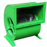 forward double inlet centrifugal fan
