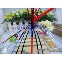 double layers foil firework drinking straw