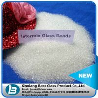 Customized available reflective road glass beads for road marking paint with different sizes