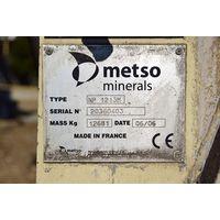 "USED METSO ""NORDBERG"" MODEL NP1213M IMPACT CRUSHER S/NO. 20360403. thumbnail image"
