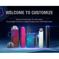 Custom Logo and Package e-cigarette easy to operate durable vaping