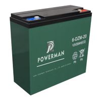 12V 20Ah Lead-acid UPS AGM GEL VRLA Storage Solar Battery