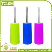 Hot Selling Eco Friendly Household Toilet Brush With Stainless Steel Handle