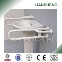 U shape nylon wash basin grab bar