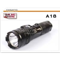 5W LED bright Flashlight Clip-On waterproof torch A18