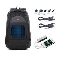 solar backpack charger kit include 2600mAh power bank