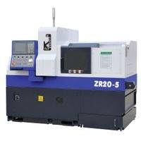 5 Axes Swiss CNC Precision Automatic Lathe ZR205