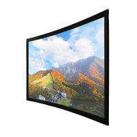 Frame Style and 16:9 Format Curved Projector Screen thumbnail image