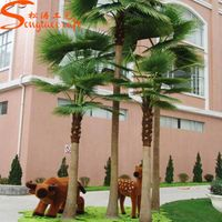 artificial Fake fan palm tree for decoration