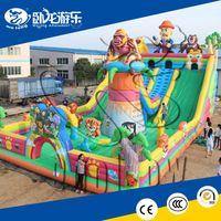 inflatable slide combo, giant bouncy castle