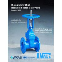 RESILIENT SEATED GATE VALVE, rising stem 0S&Y (DN40-800) thumbnail image