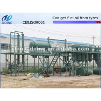 Tyre pyrolysis oil machine