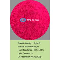 MAB-12 rose Fluorescent Pigment for detection leak
