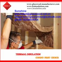 100% formaldehyde-free glass wool insulation/ brown color earthwool batts thumbnail image