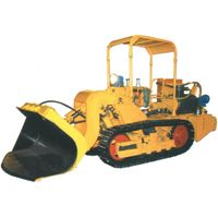 1.0CBM multipurpose side dumping crawler loader