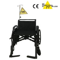 7.0 Tesla MRI compatible wheelchair for MR room use thumbnail image