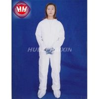 Disposable Nonwoven Coverall With Collar thumbnail image
