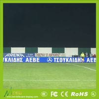 perimeter advertising led display screen for football sports