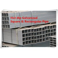 Hot diip galvanized Square and Rectangular hollow section pipe