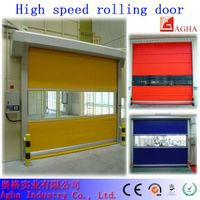 high speed door, fast door, rolling door, pvc door
