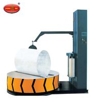 Warehouse pallet/carton stretch film pallet wrapping packing machine thumbnail image