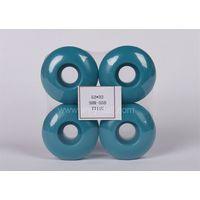 pu wheels for skate board 5232 blue polyurethane skateboard wheels