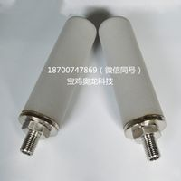 Catalyst and activated carbon removal filtration sintered porous 316Lstainless steel filter media thumbnail image