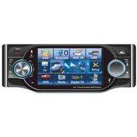 4.0-inch touch Screen car DVD player with AM/FM/RDS/TV/USB/Divx/Bluetooth/iPod control thumbnail image