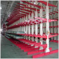 Heavy duty cantilever rack system for long items