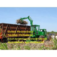 Hot selling 4 wheels sugarcane grabber loader