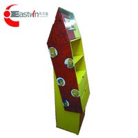 Eastwin corrugated cardboard paper slant display shelf