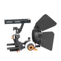 YELANGU Popular DSLR Camera Cage Shoulder Mount Rig Kit C500 Contain Follow Focus Matte Box
