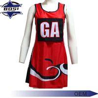 OEM factory manufacturer netball uniforms for girls netball sport skirts dress thumbnail image