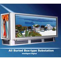 Decorative Buried Light Box Type Electric Power Transformer thumbnail image
