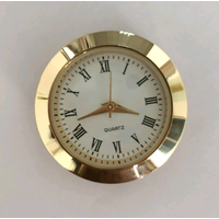 gold roman 30mm mini insert clock