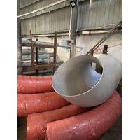 "TP304 large diameter Welded Elbow BW(butt-weld) LR elbow 20"" Sch 10S"