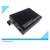 10/100/1000M Gigabyte Ethernet Single Fiber Media Converter thumbnail image