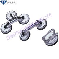 glass carrying suction cups, silver glass suction lifter for glass carrying thumbnail image