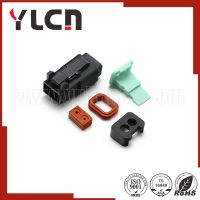 Free samples automobile connector black female waterproof deutsch auto connector