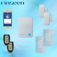Wireless 99 zones smart home automation IP alarm system with backup battery thumbnail image