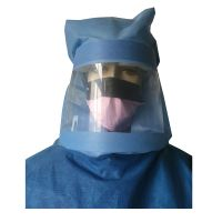 Favar PP PE Non-woven Protective Head Hood Anti-splash Isolated Face Shield thumbnail image