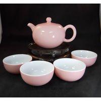 Great Porcelain Tea Set Pink Color (RYFS16)