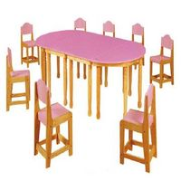 baby plastic table and chair thumbnail image