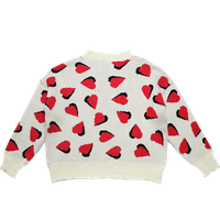 2021ss New Arrival Ladies Heart Pullover Sweater thumbnail image
