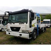 Daewoo Novus SE (2012) cargo truck + new crane DongYang SS1406( 7t,18.3m) thumbnail image