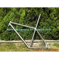Titanium mountain bicycle frame Ti mtb bike frame customized bike part