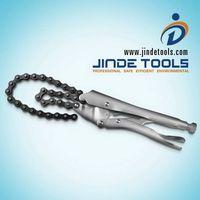 Chain locking pliers