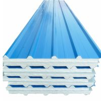 Top quality manufacturer insulation keep warm EPS sandwich panels