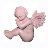 Resin Sculpture Angel Resin Figurine Crafts Gifts for Holiday